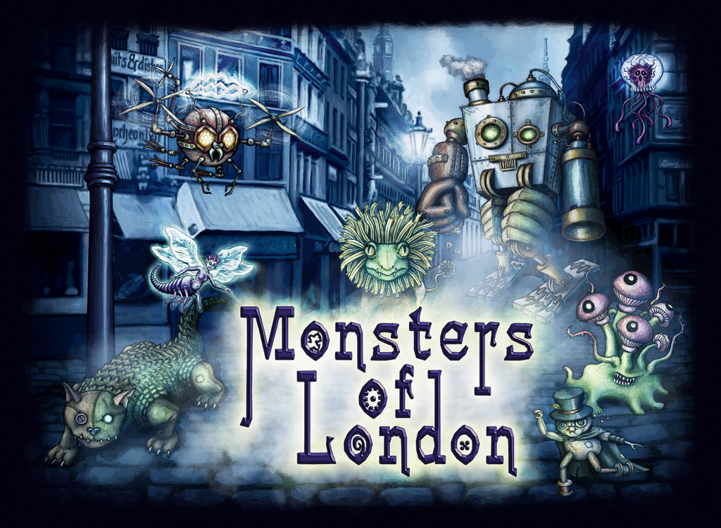 Patricia Limberger - Monsters of London